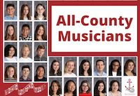 All County Musician - picture of a group on high school kids